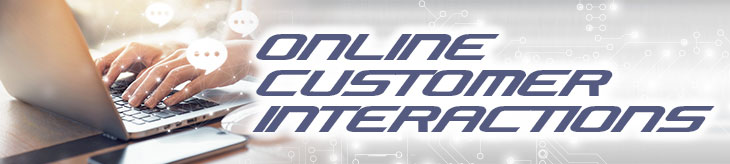 Key characteristics of positive online customer interaction